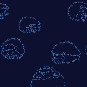 hedgehog Blu