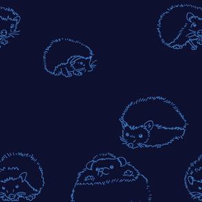 hedgehog Blu2