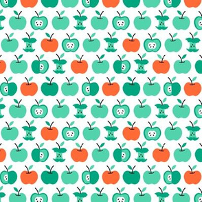 Back to school apples green (small)