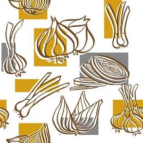 Mustard Onions