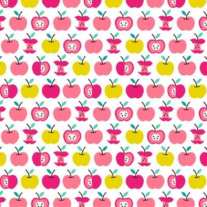 Back to school apples pink (small)