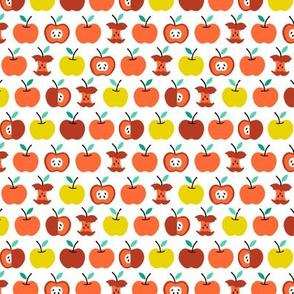 Back to school apples orange (small)