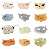Aquarelle Cats