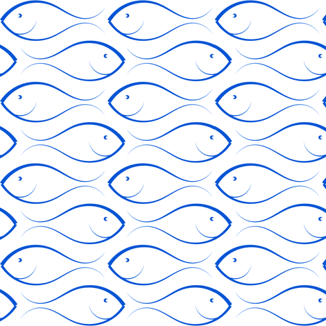 fish swarm fabric by stofftoy on Spoonflower - custom fabric