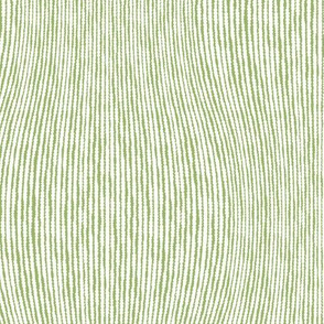 Green Wavy Stripes