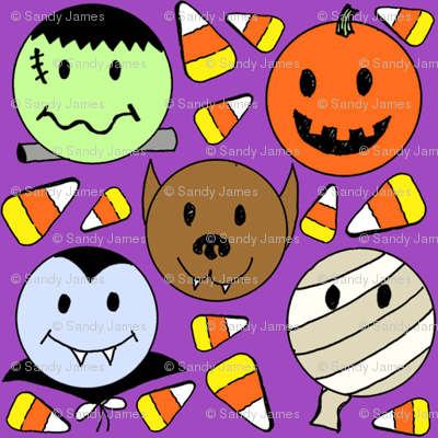 Candy_corn_monsters_purple_2