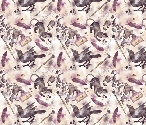 Lenore fabric by khubbs on Spoonflower - custom fabric