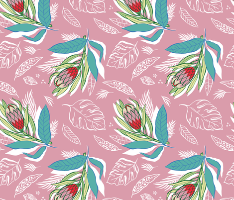 Summer Botanicals fabric by khubbs on Spoonflower - custom fabric