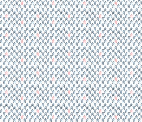 Woodland Chevron Pop 3 fabric by markieann on Spoonflower - custom fabric