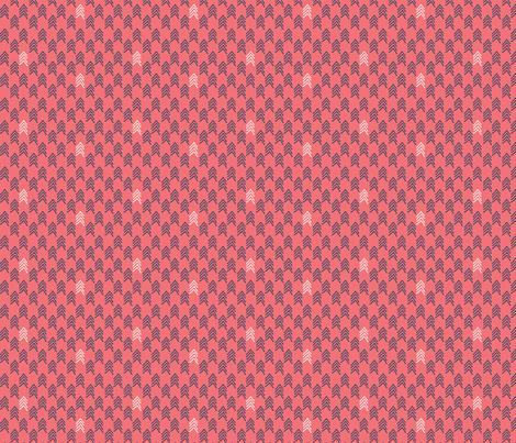 Woodland Chevron Pop 4 fabric by markieann on Spoonflower - custom fabric