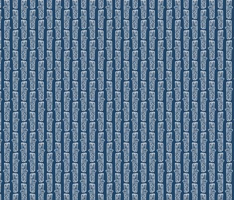 Woodland Log Stumps 4 fabric by markieann on Spoonflower - custom fabric