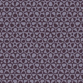 star quasicrystal in Midsummer mauve
