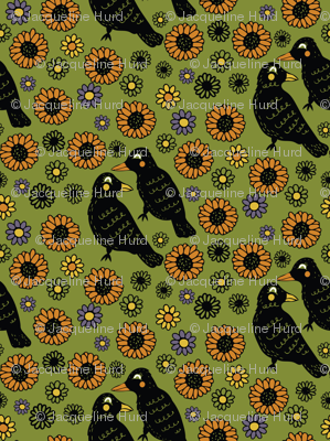 Ravens and Sunflowers, Harvest Design