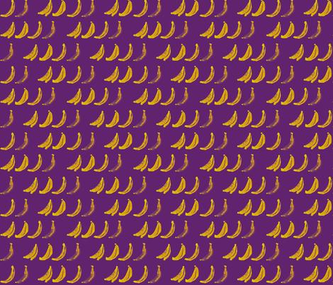 banana fabric by ebixcalligraphy on Spoonflower - custom fabric