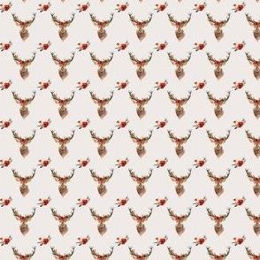 """Deer in Love - IVORY  Under 1"""""""
