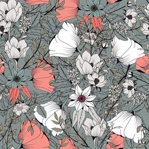Botanical Pattern 015