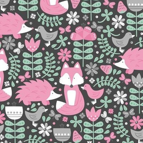 Fox Forest (Rose and Mint)