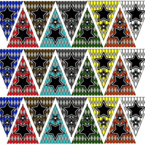 Mini-Bunting_Banner-skull-stars_with_brown_grey