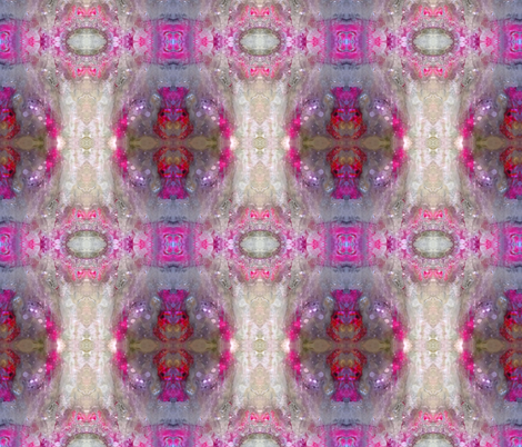 Pink Glory-Variation 2 fabric by gracelillydesigns on Spoonflower - custom fabric