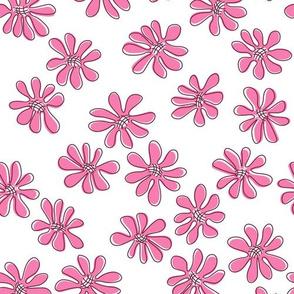 Gerberas Bright Trio - Small Florals in Pink