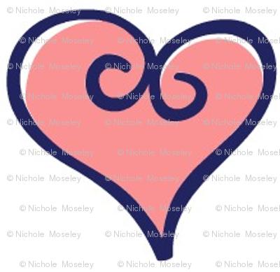 OF Balloons - Coordinating Hearts #1