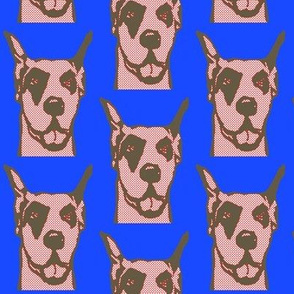 Great Dane in pop art!