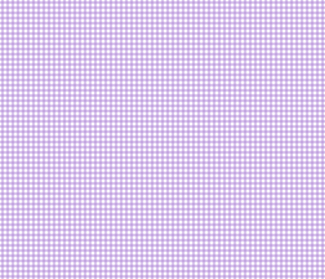 Wisteria Gingham c3a5e0 fabric by theboytique on Spoonflower - custom fabric