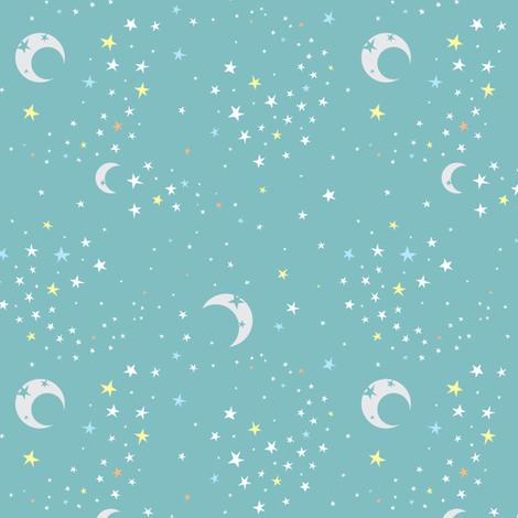 Celestial Dreams fabric by electrogiraffe on Spoonflower - custom fabric