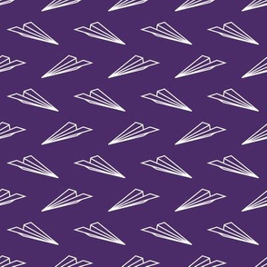 Paper Airplanes (Purple)
