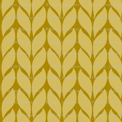 Fallknit (tiny) -mustard