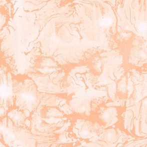 Abstract Paint Swirls Sunset Peach