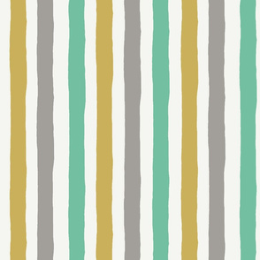 Irregular stripes - Neutral Baby