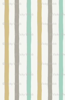 Irregular stripes - Neutral Baby - PALE