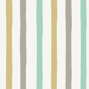 Irregular stripes - Neutral Baby - PALE