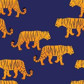 Tigers orange/blue