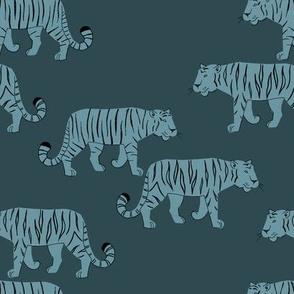 Tigers teal