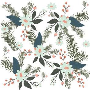 Winter Floral Mint