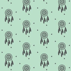 Mint Dream Catcher - Mint Grey Native