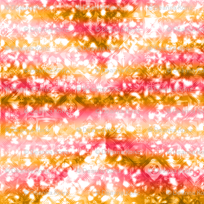 Abstract Gradient Squares Pink Orange