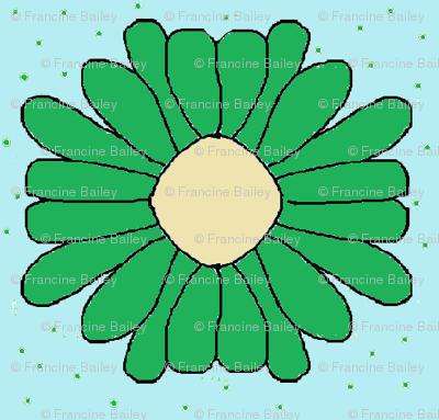 Bee-U-tiful Mille Flower green