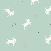 Horses - mint