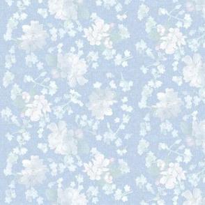 Hope Flowers - Light Blue