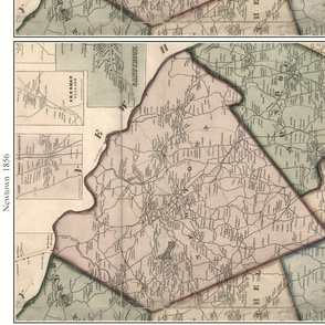 Map of Newtown, CT