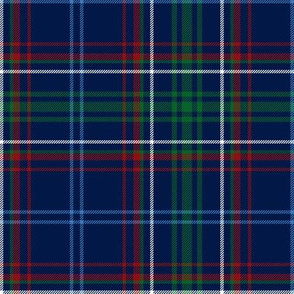 Massachusetts tartan, dark