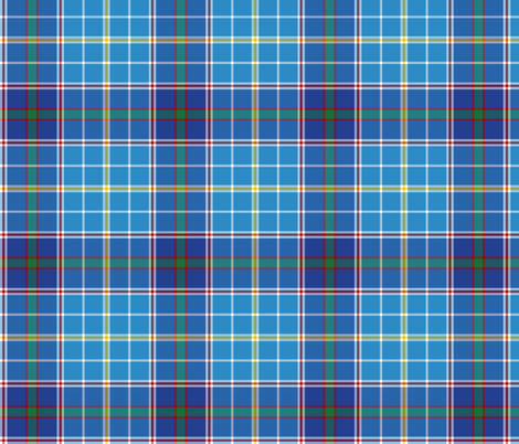 "Texas bluebonnet tartan, 6"" bright fabric by weavingmajor on Spoonflower - custom fabric"
