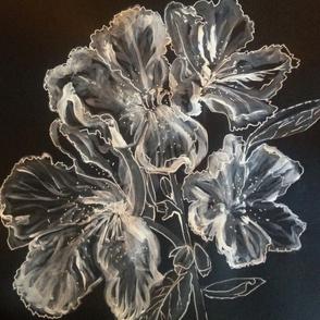 White Azaleas by Liz H Lovell