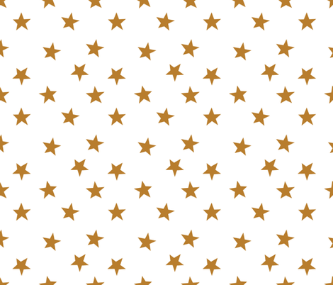 gold stars kids baby nursery kids baby star fabric sports team fabric sports fabric by charlottewinter on Spoonflower - custom fabric