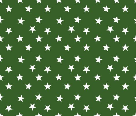 green stars football sports fabric boys fabric kids nursery baby fabric  fabric by charlottewinter on Spoonflower - custom fabric