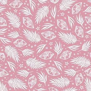 Diamond Flora - Pink