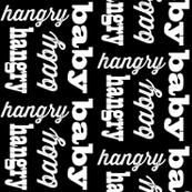 Hangry Baby // Black
